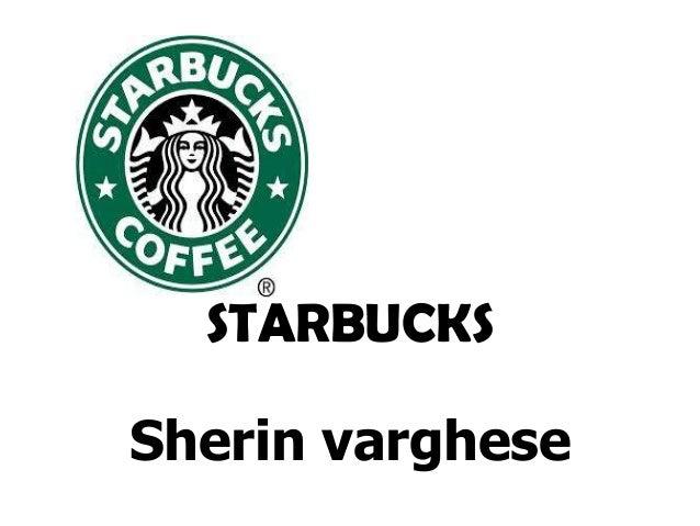 STARBUCKS Sherin varghese