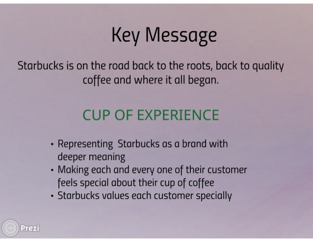 starbucks back to its roots organizational behavior and development case study starbucks returns to its  roots submission date: 9-12-2013 1 whenever a company.
