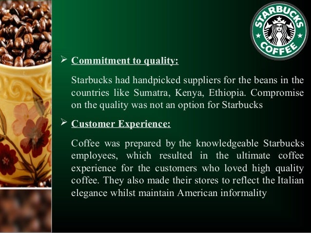 Starbucks Strategic Marketing Essay Sample
