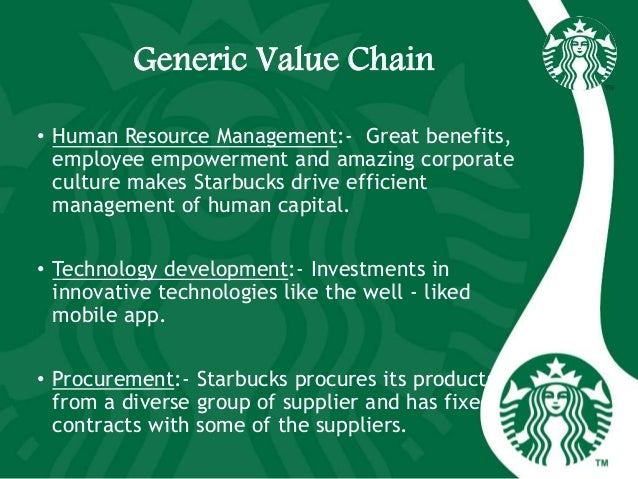 starbucks value chain and marketing metrics Starbucks continues to face stiff competition and only through strategic planning hinged upon finding new and creative ways to be innovative will the.