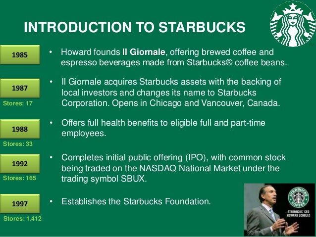 starbucks introduction pdf