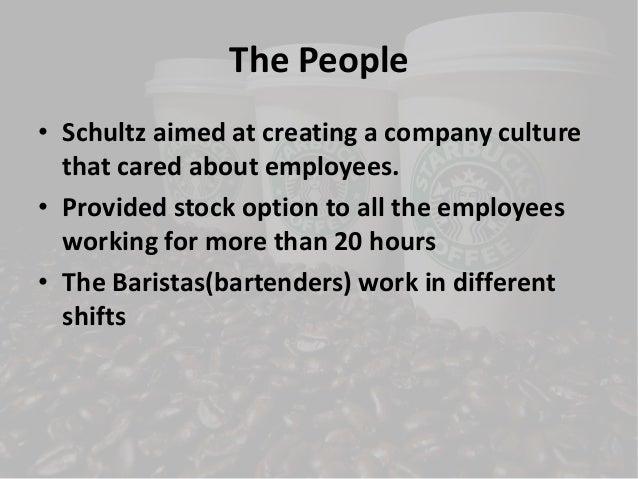 Starbucks stock options employees