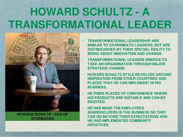 howard schultz leadership style essay Essays - largest database of quality sample essays and research papers on management style of howard schultz.