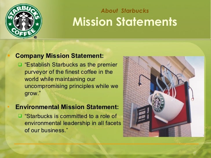 starbucks mission responsibility and growth Starbucks details five-year plan to accelerate profitable growth the role and responsibility of a starbucks accelerates the growth across its.