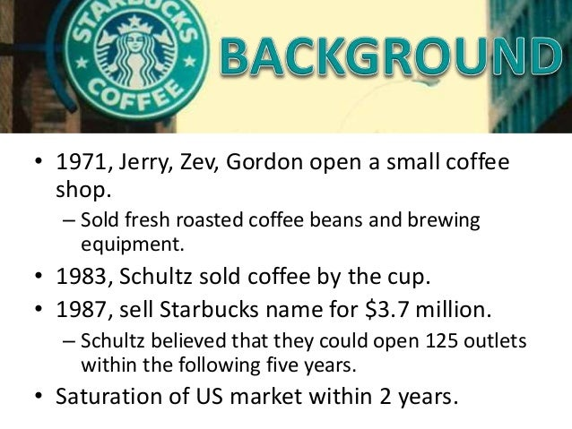 trouble brews at starbucks case The trouble is that consumers are increasingly experiencing starbucks and pepsi rank among the 50 most valuable brands in (a case is defined as 192.