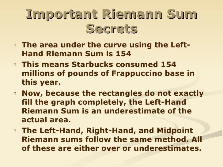 how to find integral from riemann sum