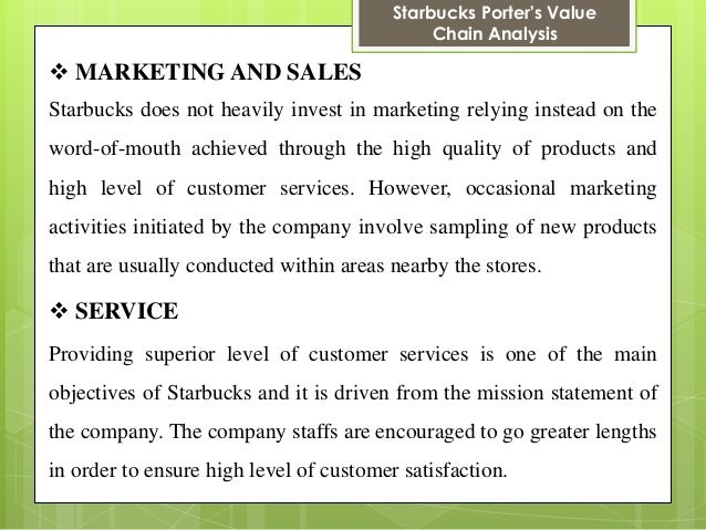 marketing communication objectives for starbucks Integrated marketing communications - starbucks longevity in the business table 3 end state goals end-state goals all employees focused on the objectives and.