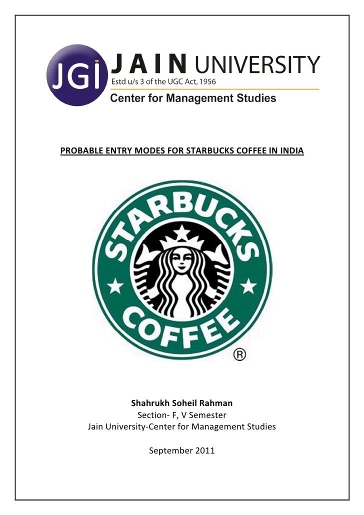 starbucks expansion in china