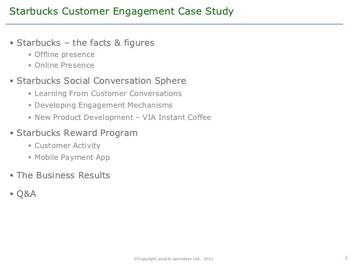 starbucks business ethics case analysis We believe that conducting business ethically and striving to do the right thing are vital to the success of the company starbucks ethics & compliance supports our mission & values and helps protect our culture and our reputation by fostering a culture that is committed to ethical leadership and conducting business with.