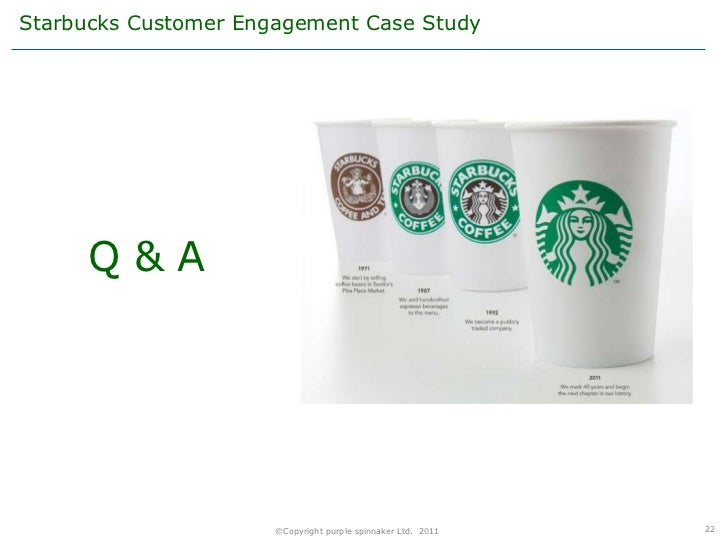 recommendations to reduce starbuckss customer dissatisfaction History has shown that starbucks is invested in serving customers and exceeding their expectations discover how customer loyalty increases their profits.