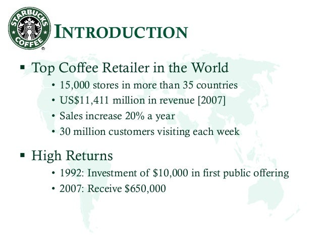 starbucks in 2009 5: more than 20% of starbucks' orders in the us are made using mobile devices in 2009, starbucks began testing its mobile app with the starbucks card, which allowed customers to use prepaid.