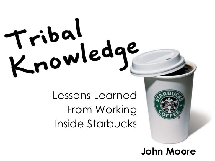 John Moore Lessons Learned From Working Inside Starbucks