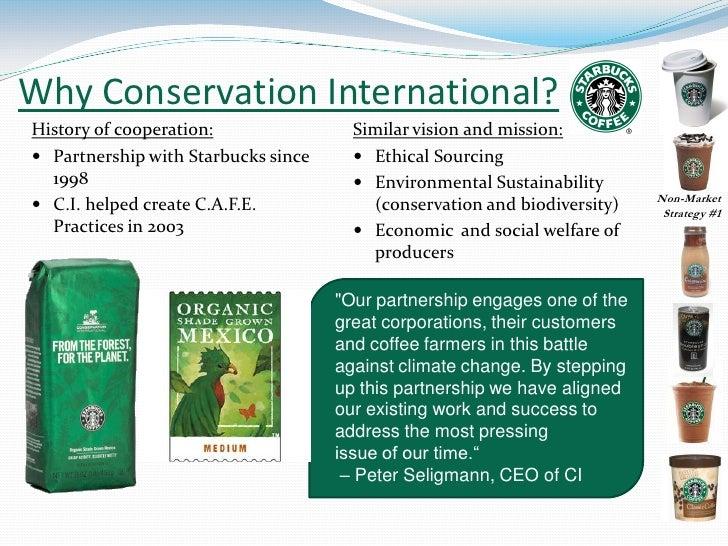 starbucks sustainable sourcing