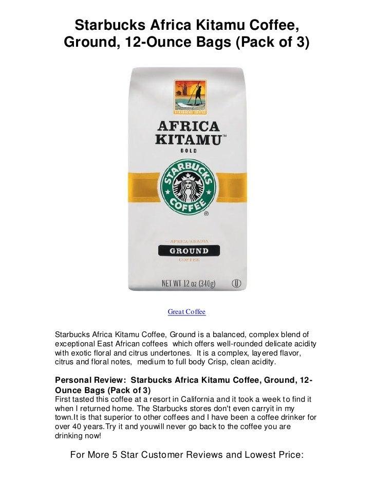 Africa Kitamu Coffee