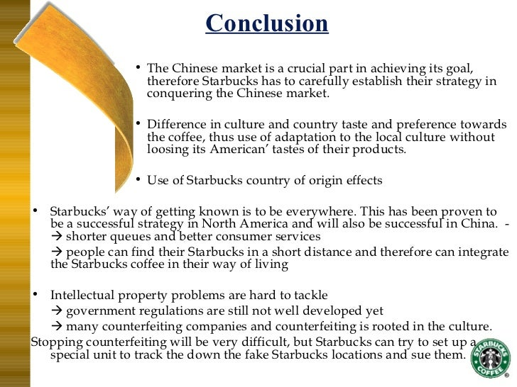 starbucks standardization and adaptation strategy china Rein: why starbucks succeeds in china  shaun rein, cnbc contributor|founder hksckpviamp managing director, china market research group  starbuck's high pricing strategy of specialty drinks.
