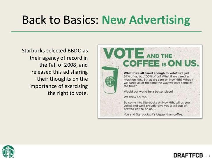 Starbucks: Back to Basics?