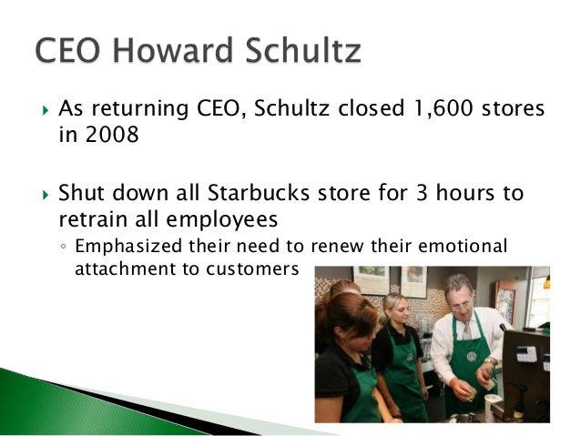 Howard schultz leadership style essay