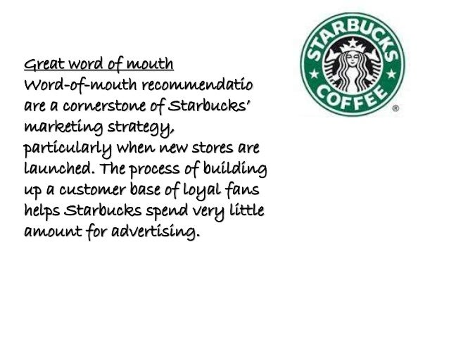 Marketing Analysis and Strategy Recommendation for Starbucks Coffee Company
