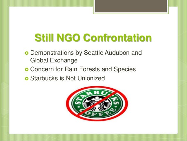 starbucks conservation international Starbucks and conservation international case study - witness the benefits of expert custom writing assistance available here all sorts of writing services & custom essays.