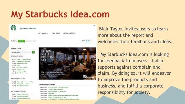 starbucks social responsibility