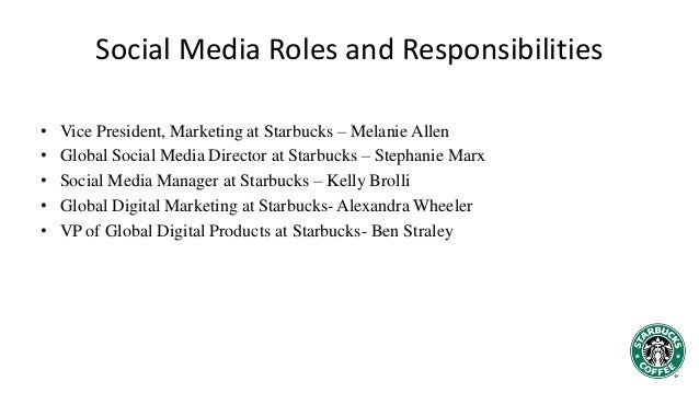 starbucks social media analysis essay Swot analysis is a strategic planning tool marketing essay - free download as word doc (doc / docx), pdf file (pdf), text file (txt) or read online for free for.