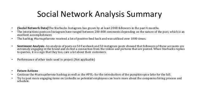 starbucks social media analysis essay Social experience of starbucks strategic analysis of starbucks corporation 1 3 strategic analysis of starbucks corporation.