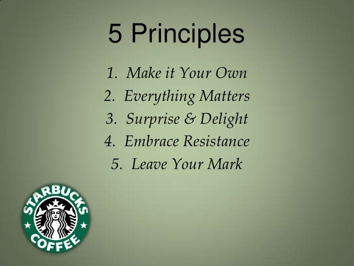 Books: The Starbucks Experience : 5 Principles for Turning Ordinary into Extraordinary