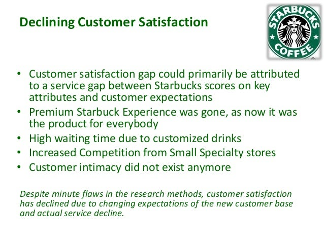 valuable is a highly satisfied customer to starbucks