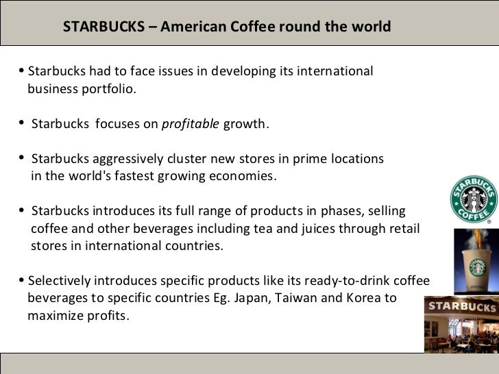 starbucks location strategy Starbucks uses the highest quality arabica coffee as the base for its espresso drinks learn about our unique coffees and espresso drinks today.