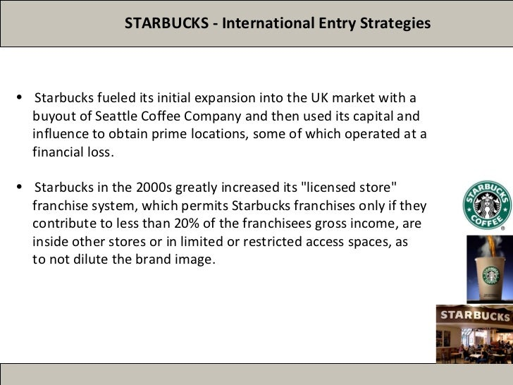 international marketing of starbucks Mubasher: swiss-based nestlé on monday announced a cash deal agreement to  handle marketing for starbucks products worldwide the deal.