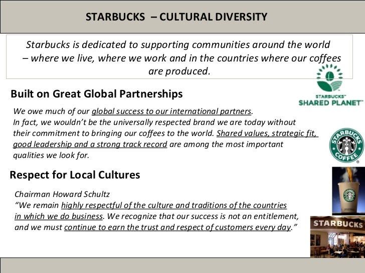 starbucks global strategy Starbucks corporation is an american coffee company and  groups such as global exchange are calling for starbucks to further increase its sales of fair.