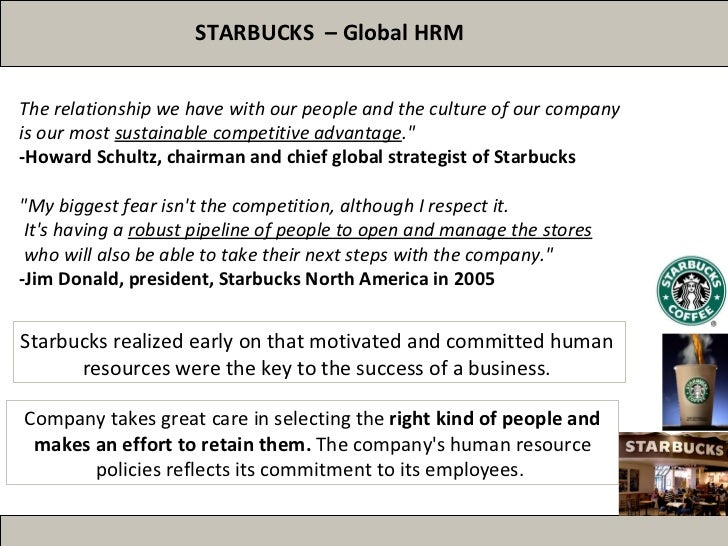 a report on the strategy of the starbucks company Starbucks business strategy and competitive advantage the share of company's analysis of starbucks business strategy the report illustrates the.