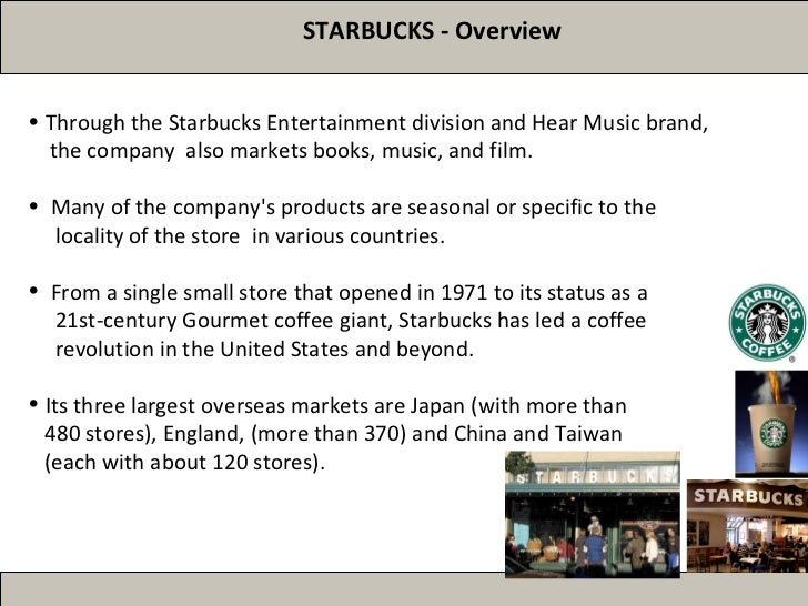 Starbucks International Marketing Strategy