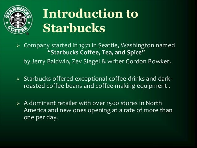 indirect competitors of starbucks
