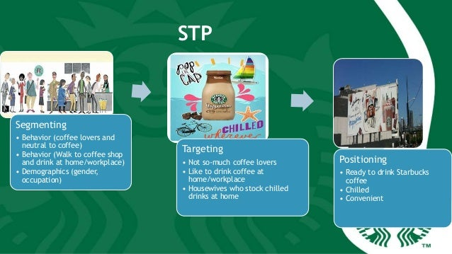 starbucks stp strategy This report analysed the target markets and positioning strategy of starbucks while it was launched also, it shows how the marketing mix variables (product, price documents similar to starbucks - targetting, positioning and marketing mix skip carousel carousel previous carousel next.
