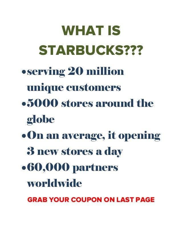 starbucks free coffee