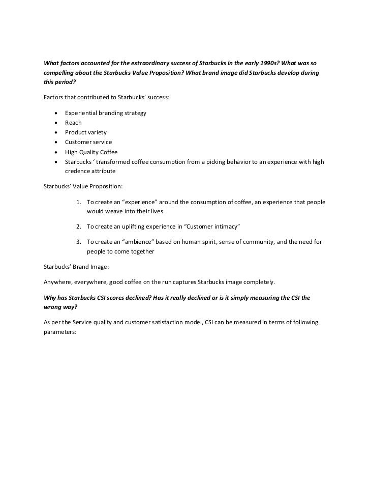 starbucks case analysis - Military.bralicious.co