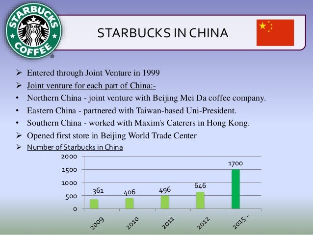 joint venture analysis of starbucks The company's objective is to establish starbucks as the most recognized and   swot analysis  starbucks is joint venture, not franchise organization.