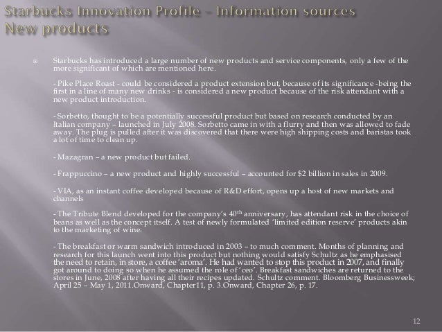 Research Paper On Product Innovation Of Starbucks - image 11