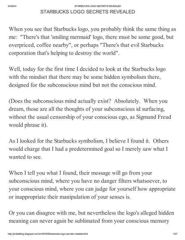 Starbucks logo secrets revealed