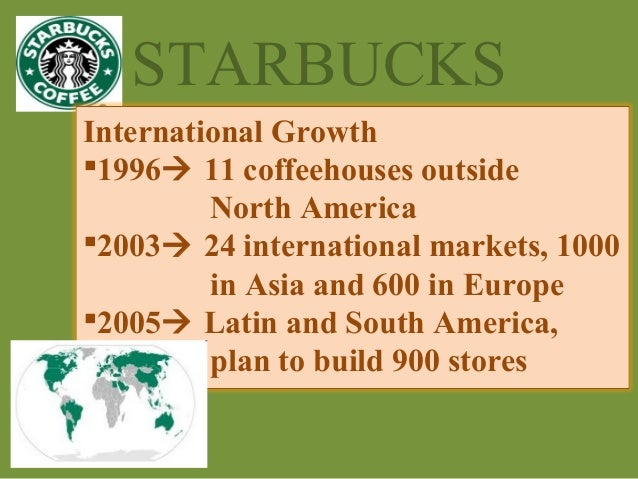 starbucks 4ps Current ceo howard schultz joined the company in 1982 and began pressing to  have starbucks provide coffee, espresso drinks as well as.