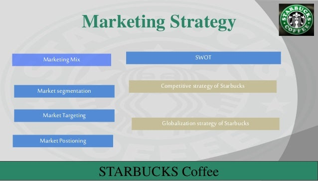 Marketing concept of starbucks