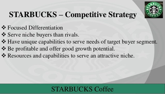 Starbucks Coffee's Generic and Intensive Growth Strategies
