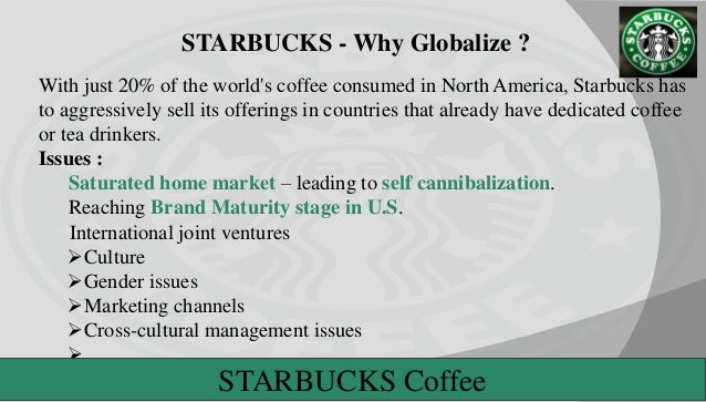 what are starbucks entry strategies into the international market Starbucks' strategy for india is not starbucks is not the first entrant into india's organised coffee market starbucks' decision to partner up with.