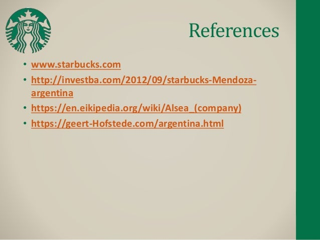 starbucks hofstede Starbucks has long been known for their ethical conduct and compliance to high standards the starbucks culture is a combination of best.