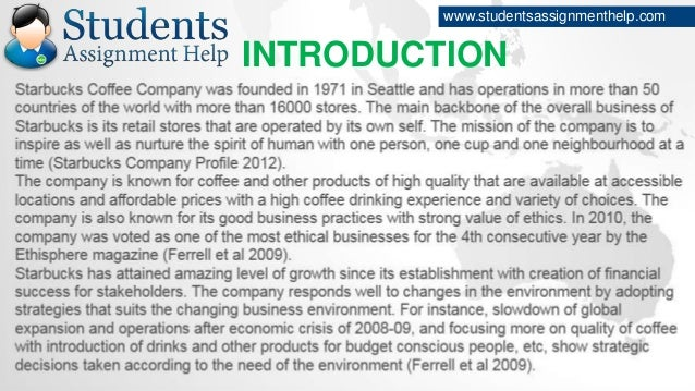 essay on starbucks csr practices introduction studentsassignmenthelp com
