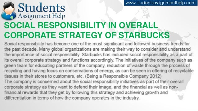 essay on starbucks csr practices starbucks mission social responsibility and brand strength 4