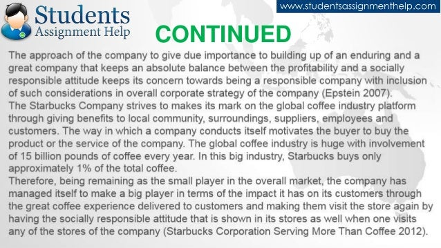 essay on starbucks csr practices continued 8