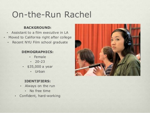 Project 1: Audience Persona Profile Building Slide 2