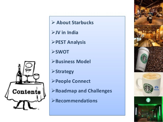 Starbucks Coffee PESTEL/PESTLE Analysis & Recommendations